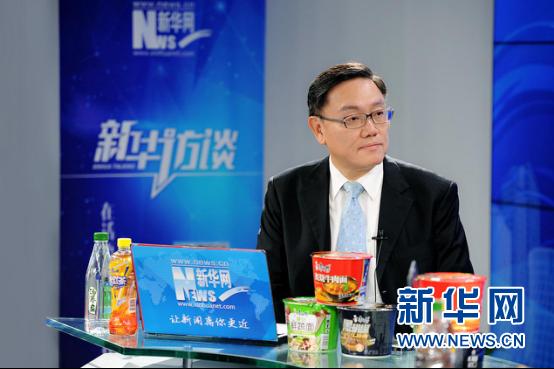 """韦俊贤:让消费者既""""吃得放心""""又""""吃得好""""是康师傅不懈追求"""