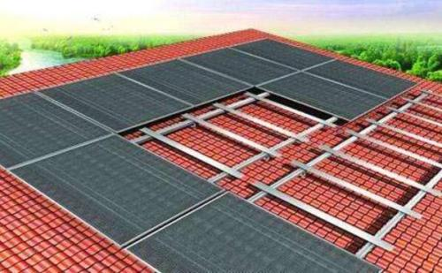 湖北省质监局22.5千瓦分布式光伏电站并网发电