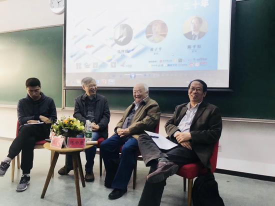 《漫说文化丛书》再版:钱理群黄子平陈平原细说30年往事