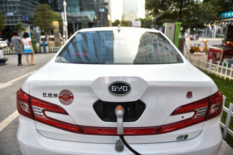 Net profits of China's EV maker BYD slashed by 45 percent