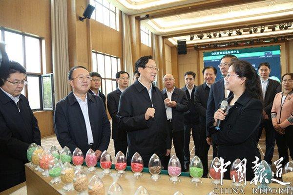 山东省委书记视察鲁花:抓主业 提供更优质美味的食品