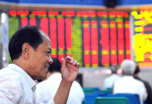 Chinese stocks close higher Tuesday