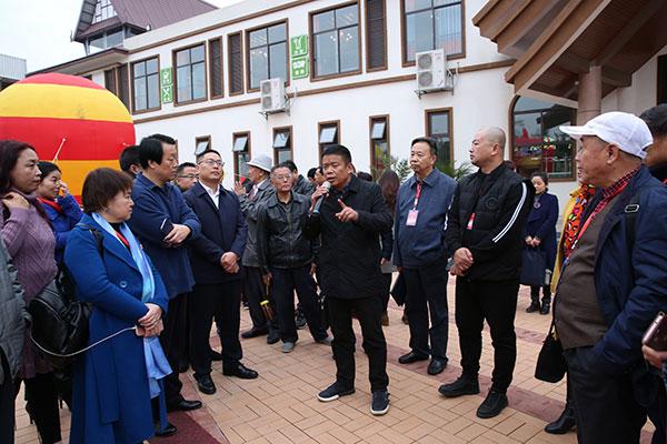 全国散文家走进四川广汉采风  感受改革开放40周年巨变