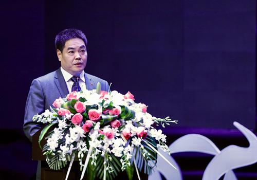 中国财富传媒集团董事长、中国证券报有限责任公司董事长葛玮致辞