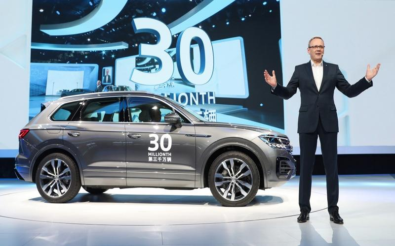 大众汽车品牌在华实现3000万辆交付 再树里程碑