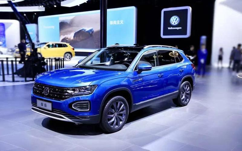 一汽-大众大众品牌多款新车亮相广州车展