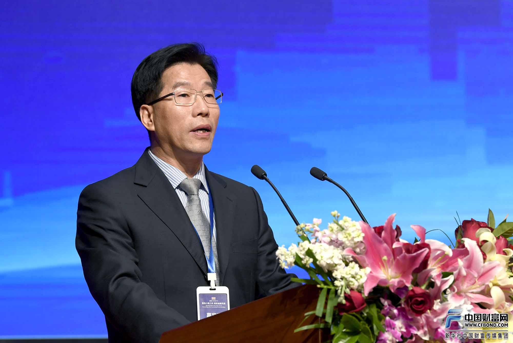 中国银行保险监督管理委员会 普惠金融部主任李均锋致辞