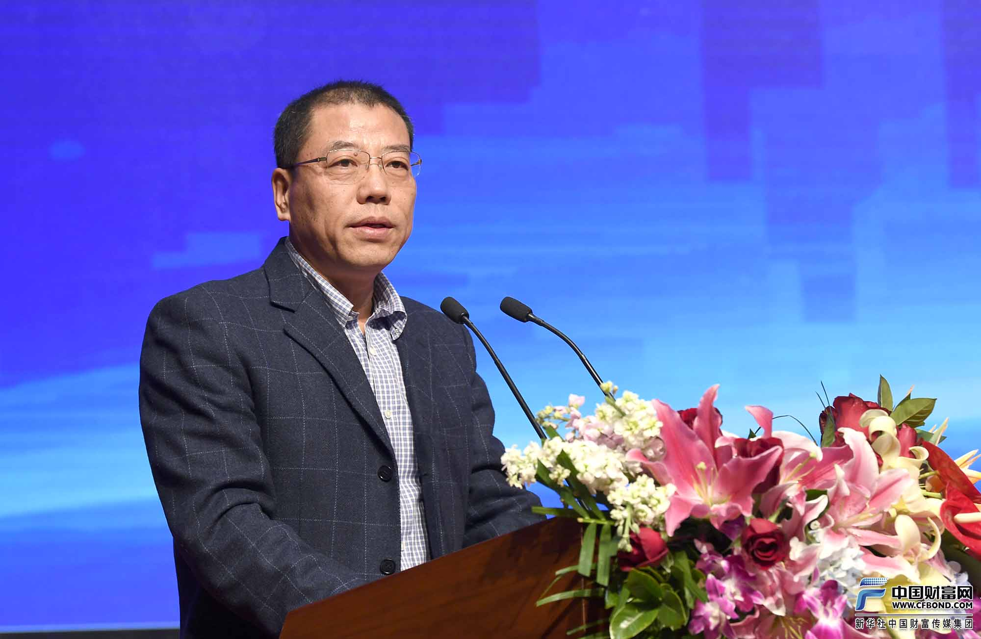 中国融资担保业协会党委书记、专职副会长任彦祥致辞