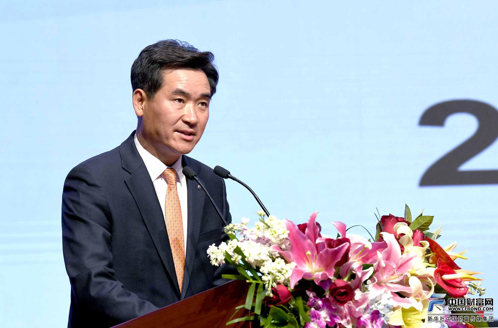 首尔保证保险株式会社董事长金相泽致辞