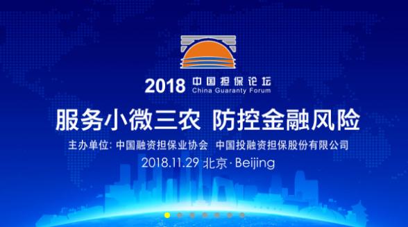 2018中国担保论坛在京开幕