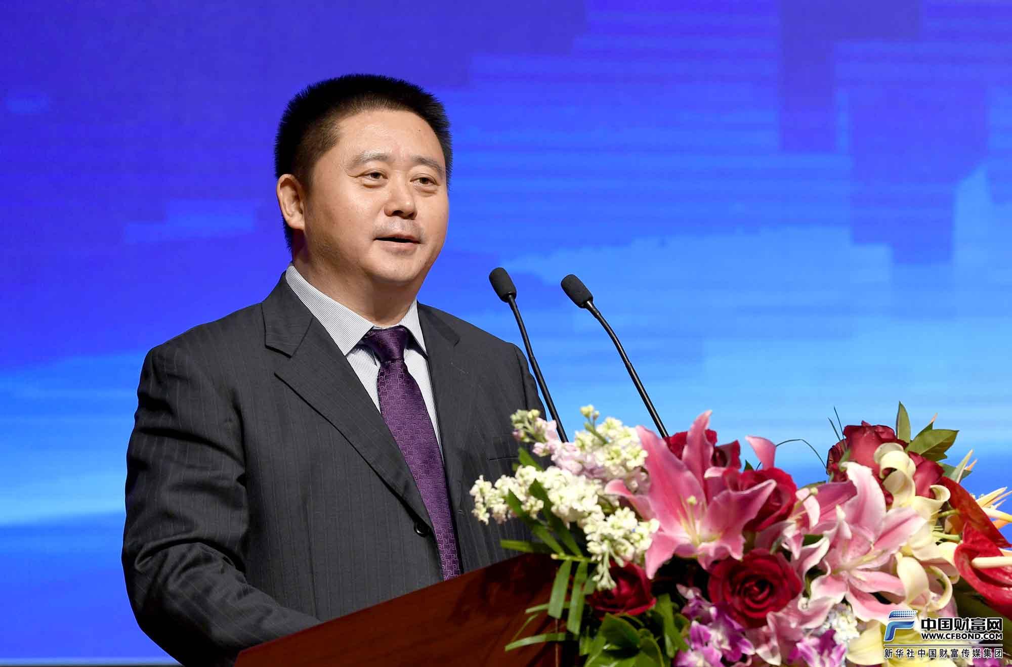 国家农业信贷担保联盟有限责任公司董事长张洪武发表演讲