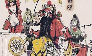 """从""""海上有戏""""到""""湘沪有戏"""":长沙博物馆呈现""""戏墨之美"""""""