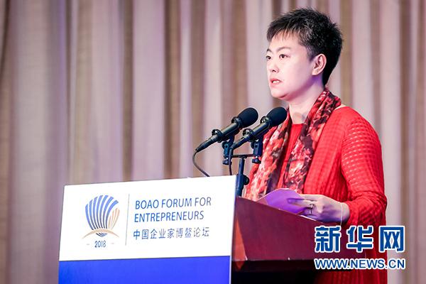 扬子江药业徐瑛:坚持质量优先 建设品牌强国