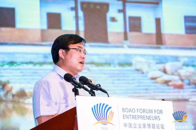 柳中輝當選為中國企業家博鰲論壇理事會副理事長
