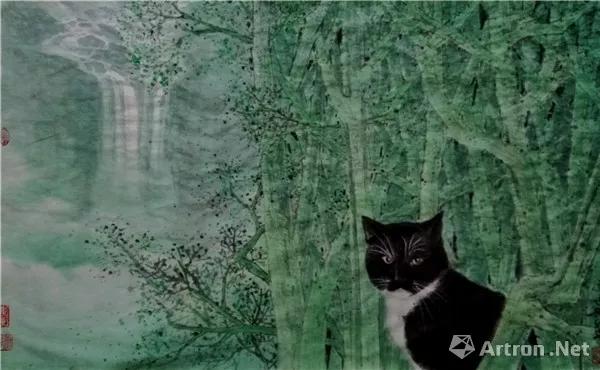 油菜花香:著名画家龙万和作品欣赏