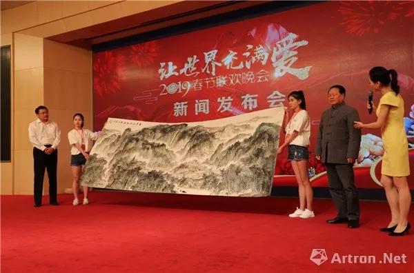 一带一路 巅峰艺术:著名画家曹来宾