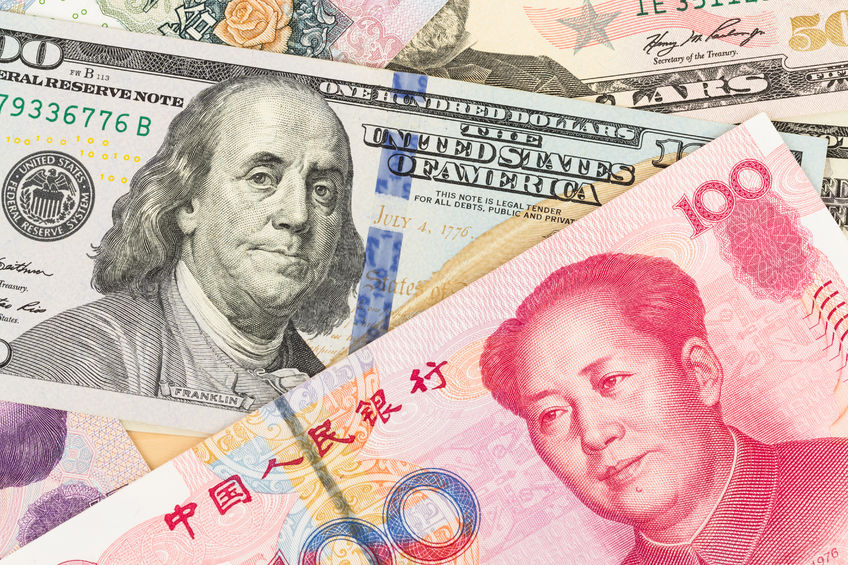 2018年人民币对美元中间价贬值5%