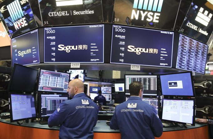 43 Chinese companies listed on U.S. bourses in 2018