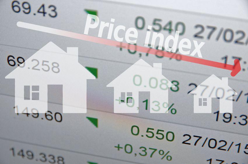 一线城市二手住宅价格全线下调
