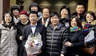 """""""刘汉琨书法展""""在《中国书画》美术馆开幕"""