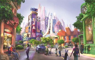 """""""瘋狂動物城""""要來了!上海迪士尼又擴建 中國主題樂園這塊蛋糕太誘人"""