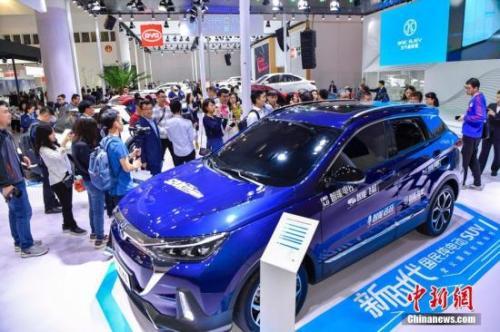 资料图:新能源汽车。<a target='_blank' href='http://www.chinanews.com/'>中新社记者 骆云飞 摄