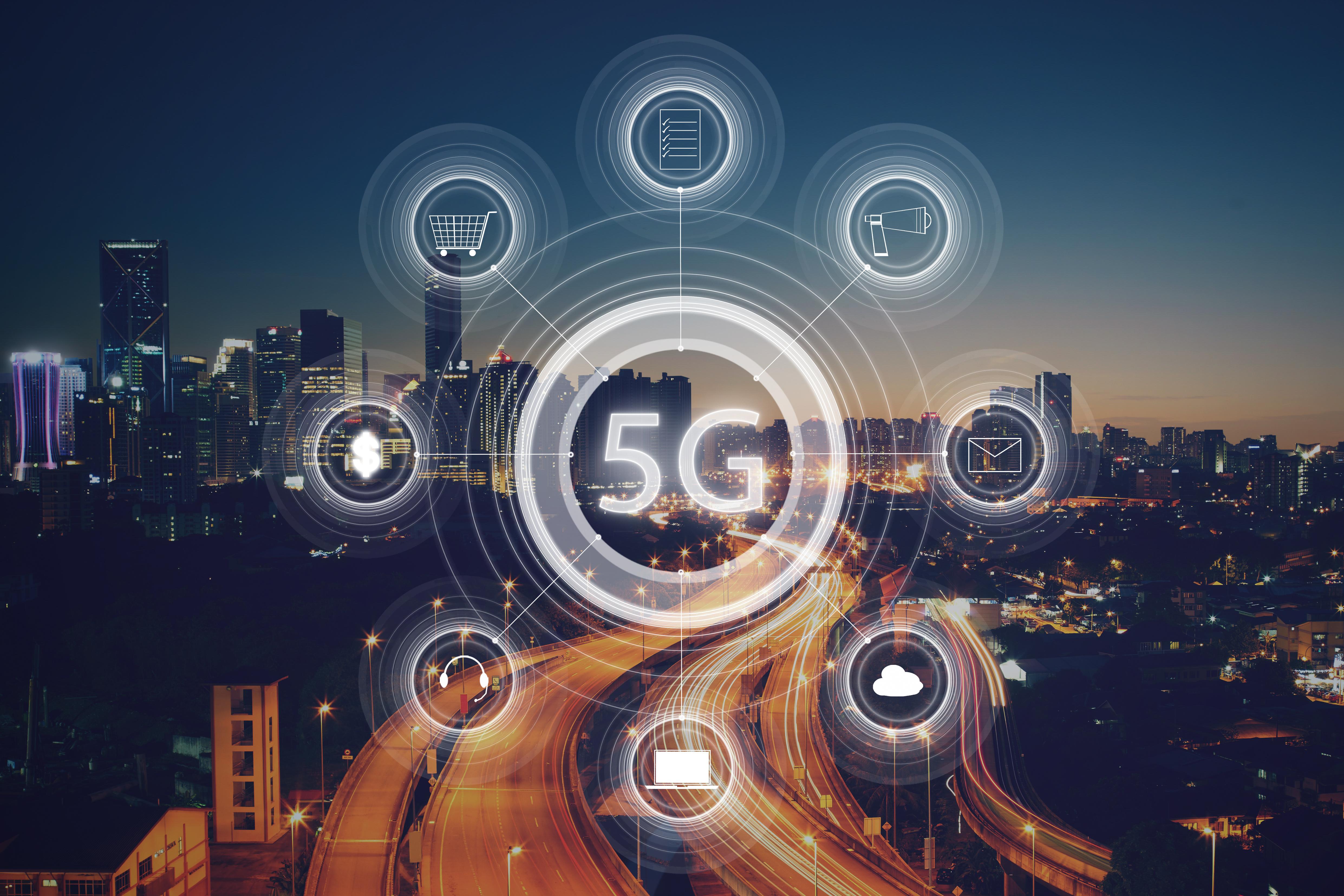 5G概念引领科技股行情 龙头股涨幅已接近4倍