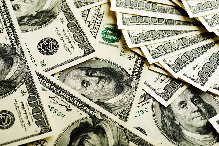美元指數26日下跌 跌幅為0.42%