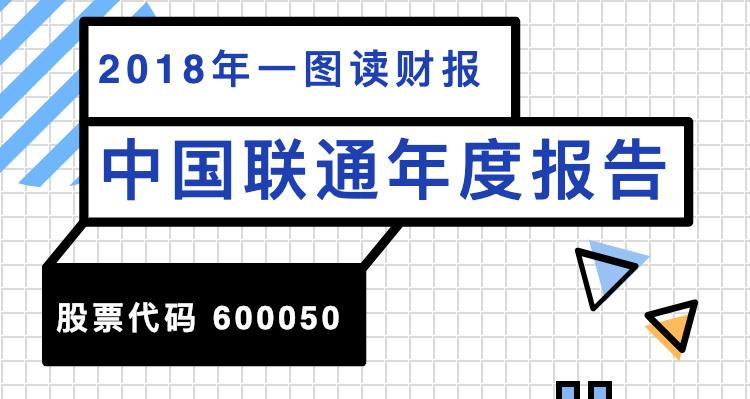 一图读财报:中国联通2018年度净利同比增长858.28%