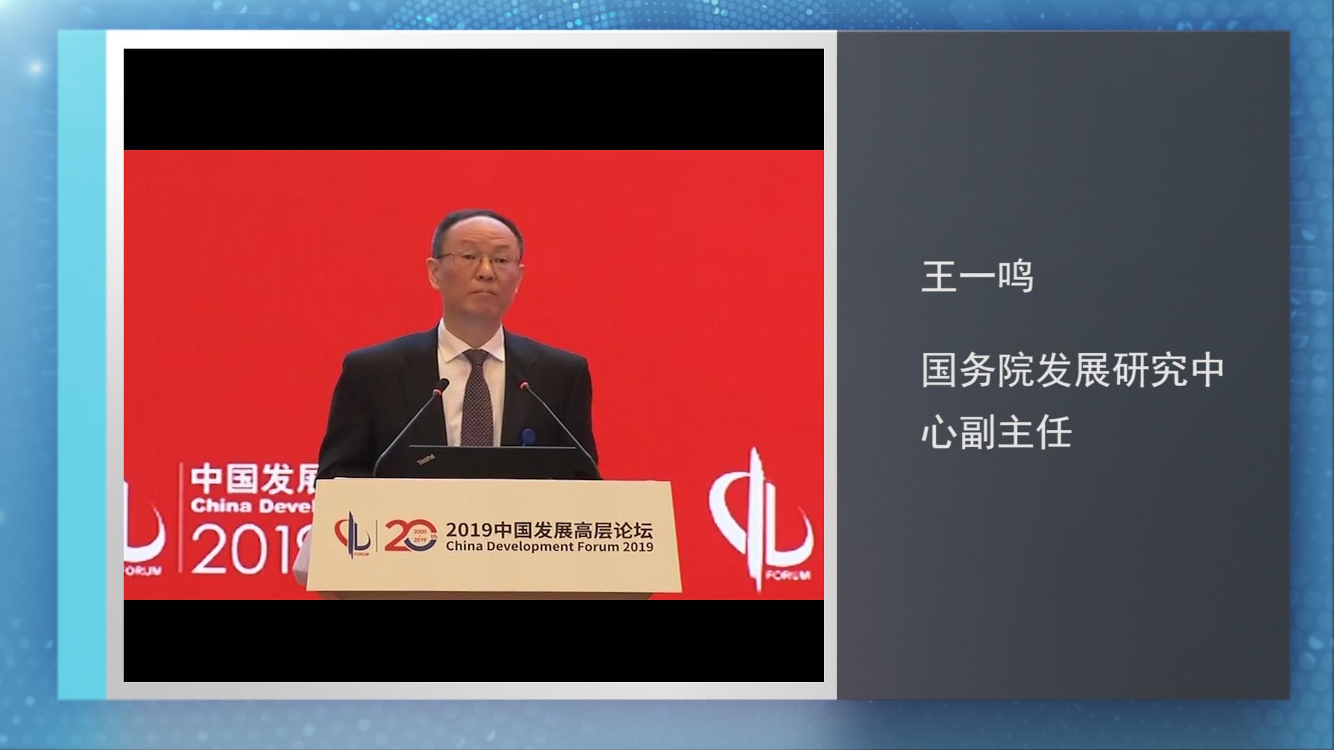 王一鸣:对未来经济产生影响的三因素