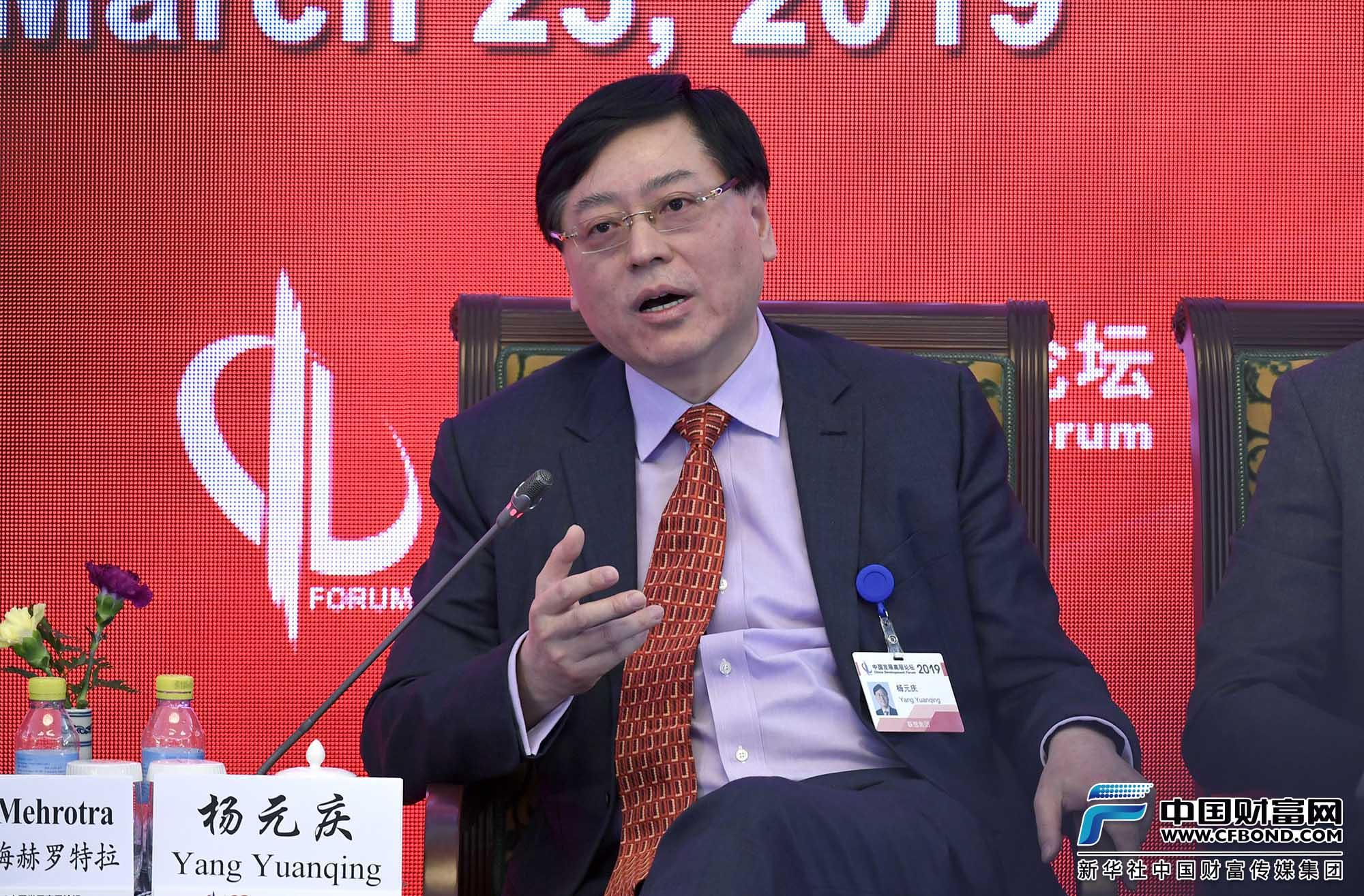 联想集团董事长兼首席执行官杨元庆回答提问