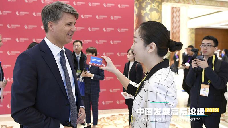 宝马集团董事长科鲁格:希望中国经济快速发展