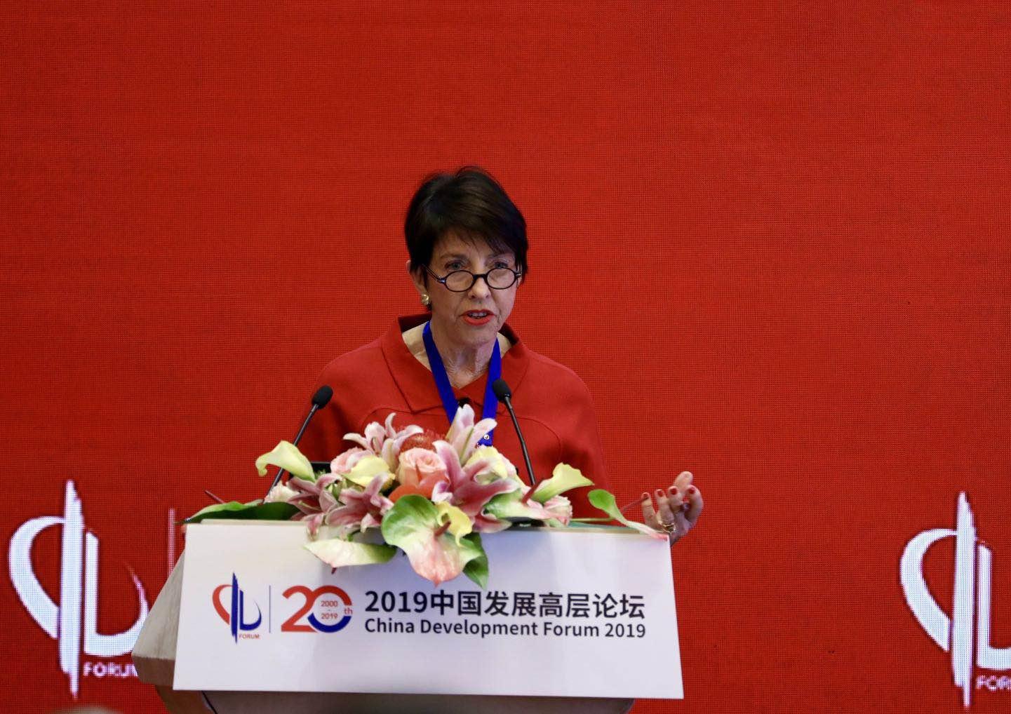 发言人:加州大学圣迭戈分校21世纪中国研究中心主任、美国前副助理国务卿谢淑丽