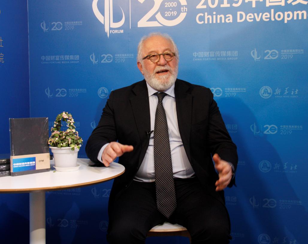 经济合作与发展组织(OECD)发展中心主任马里奥·佩兹尼