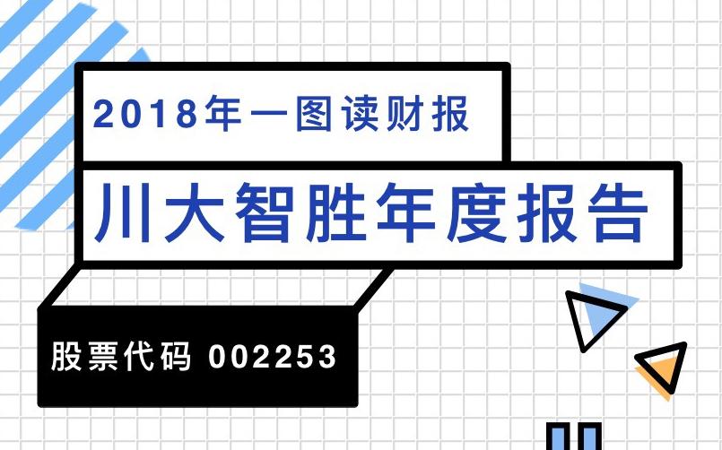 一图读财报:川大智胜2018年度营收同比增长27.48%