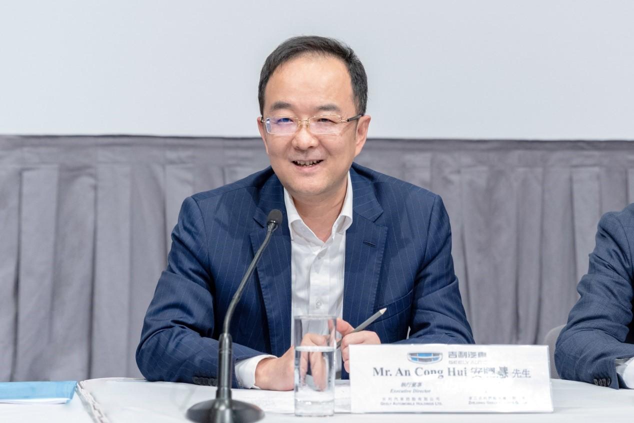 【财富车坛】吉利汽车安聪慧:在市场不确定性中把握战略机遇