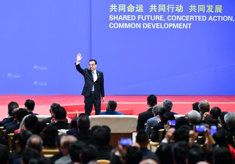 李克强:中国将进一步放宽外资市场准入
