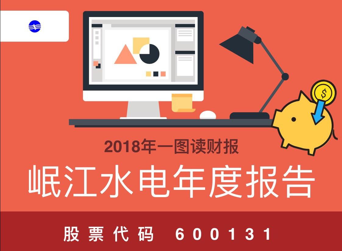 一图读财报:岷江水电2018年度营收同比增长36.49%