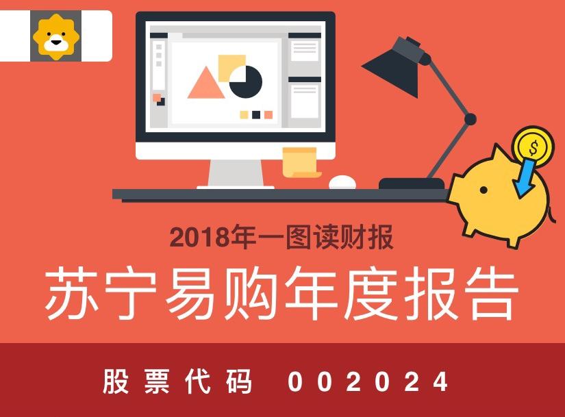 一图读财报:苏宁易购2018年度净利同比增长216.38%
