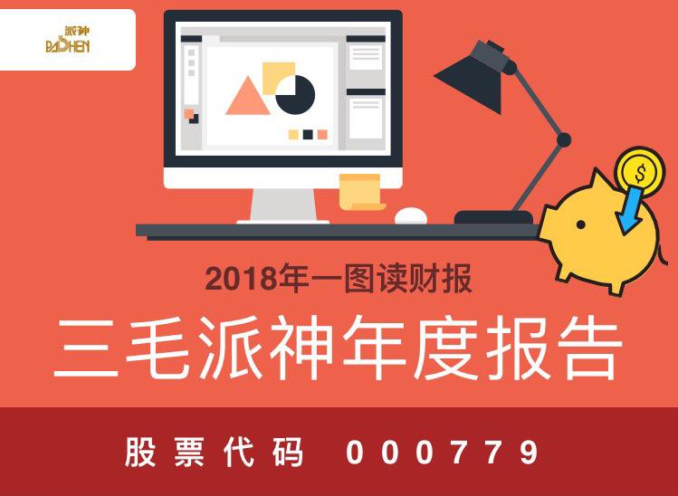 一图读财报:三毛派神2018年度营业收入21.15亿元