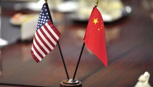 美国总统特朗普会见刘鹤