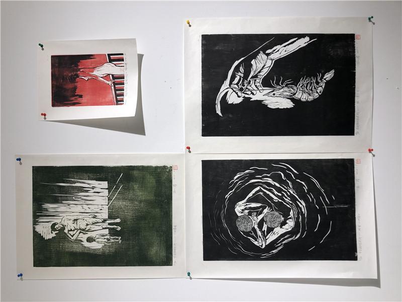 拾光——首届青年艺术家群展在山水美术馆开幕