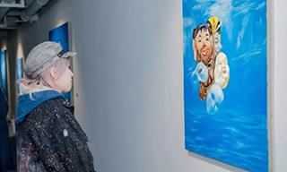 Modo  摩根個展《失重》在陌斗藝術空間開幕