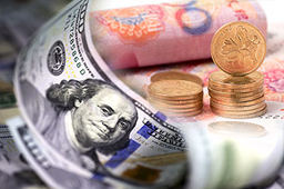 11日人民币对美元中间价上调22个基点