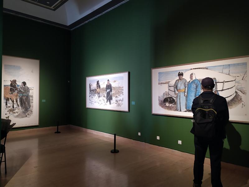 艺研院中青年艺术家系列——王赫赫、皋翱双个展亮相中国美术馆