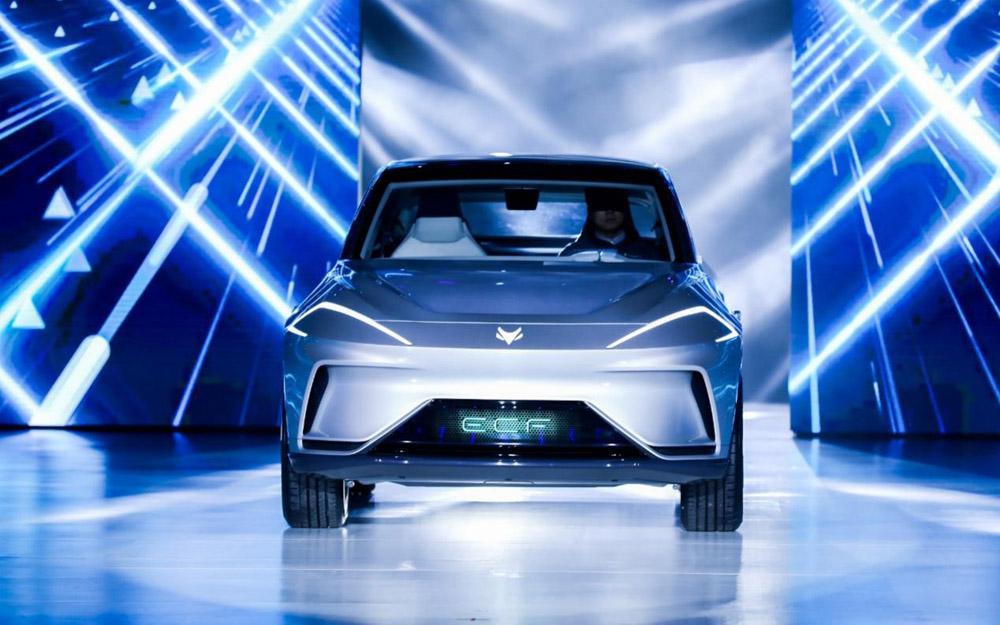 ARCFOX发布IMC架构 三款车型亮相