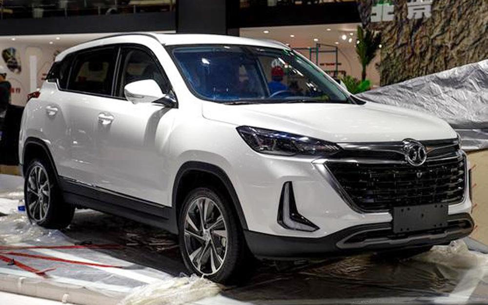 2019上海车展探馆:北京汽车将推全新A0级SUV