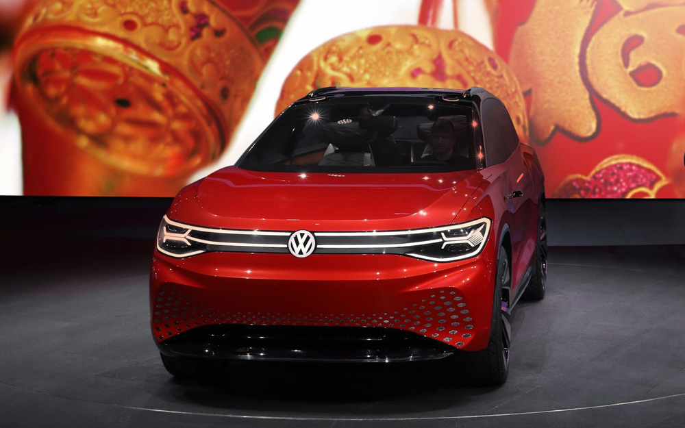 大众ID. ROOMZZ、途昂X、Polo Plus亮相2019上海国际车展