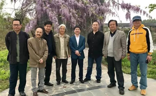 生态与艺术的交融 江苏省中国画学会艺术家走进南京万成生态园写生采风