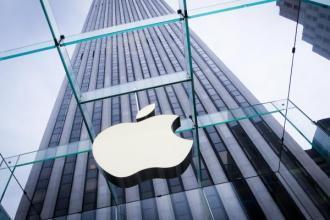 美股科技股表现分化 苹果股价创逾五个月新高